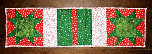 Christmas tablerunner