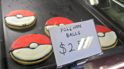Pokemon biscuits
