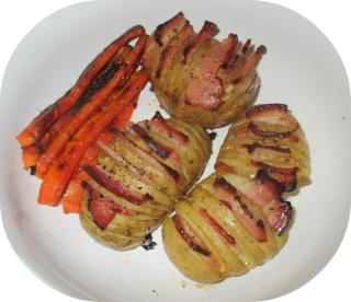 Bacon-y potatoes