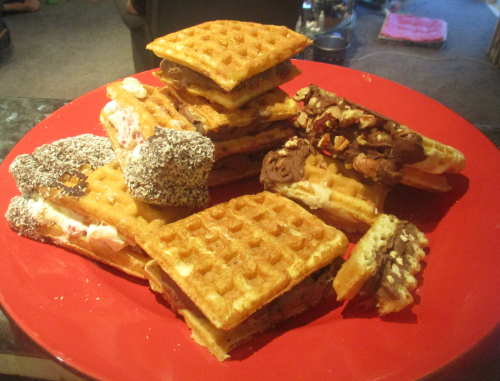 Waffle ice creams