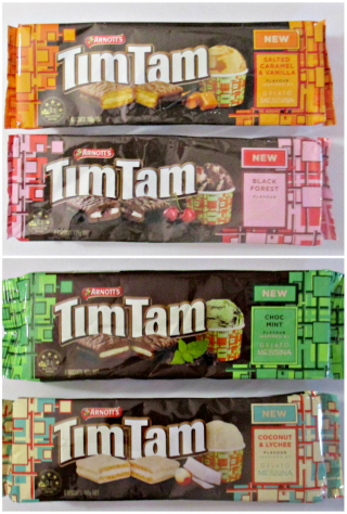 New timtam flavours