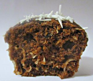Coconut rough muffin