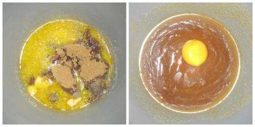 Butter sugar egg