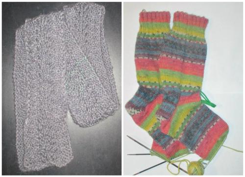 Mrsmauritius scarf crunchy salad socks