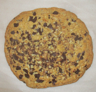 Giant chocolate biscuit