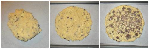 Make a big biscuit