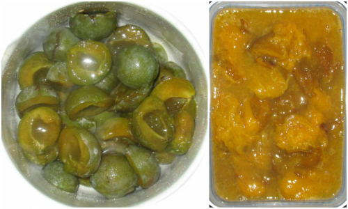Yummy greengages