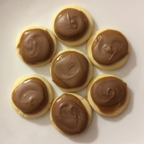 Twix biscuits
