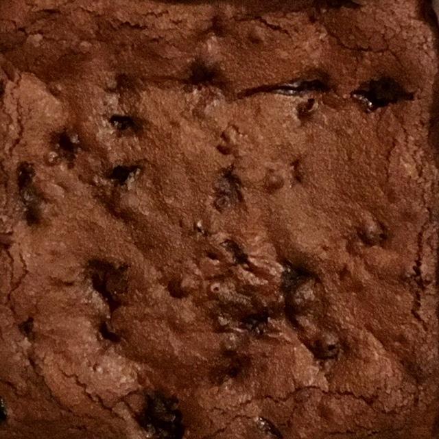 Chocolate berry brownie