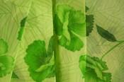 Lovely_green_print_material